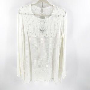 Wildfox sweater boho  size small
